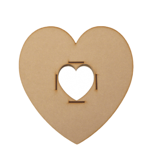 Heart Mirror Frame